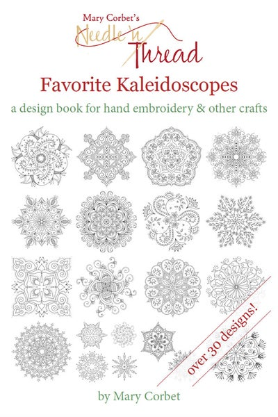 Image of Favorite Kaleidoscopes: A Design Book for Hand Embroidery