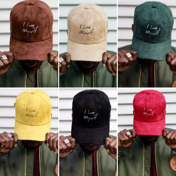 Image of Suede ILoveMyself hats
