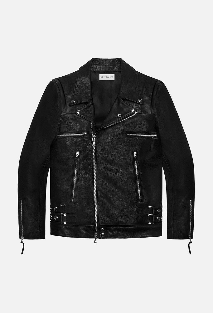 Image of JOHN ELLIOT LEATHER RIDERS JACKET