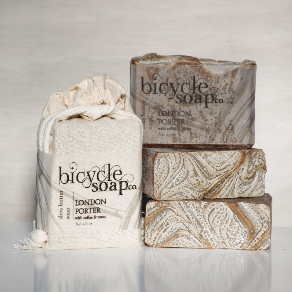 Image of Coffee & Cacao London Porter Shea Butter Soap