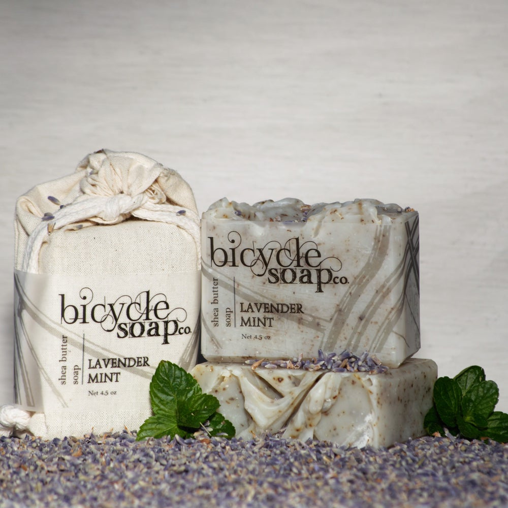 Image of Lavender Mint Shea Butter Soap