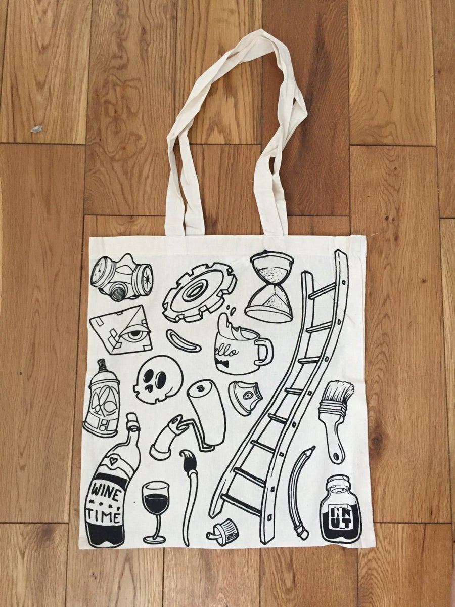 Image of Tote bag serigraphié