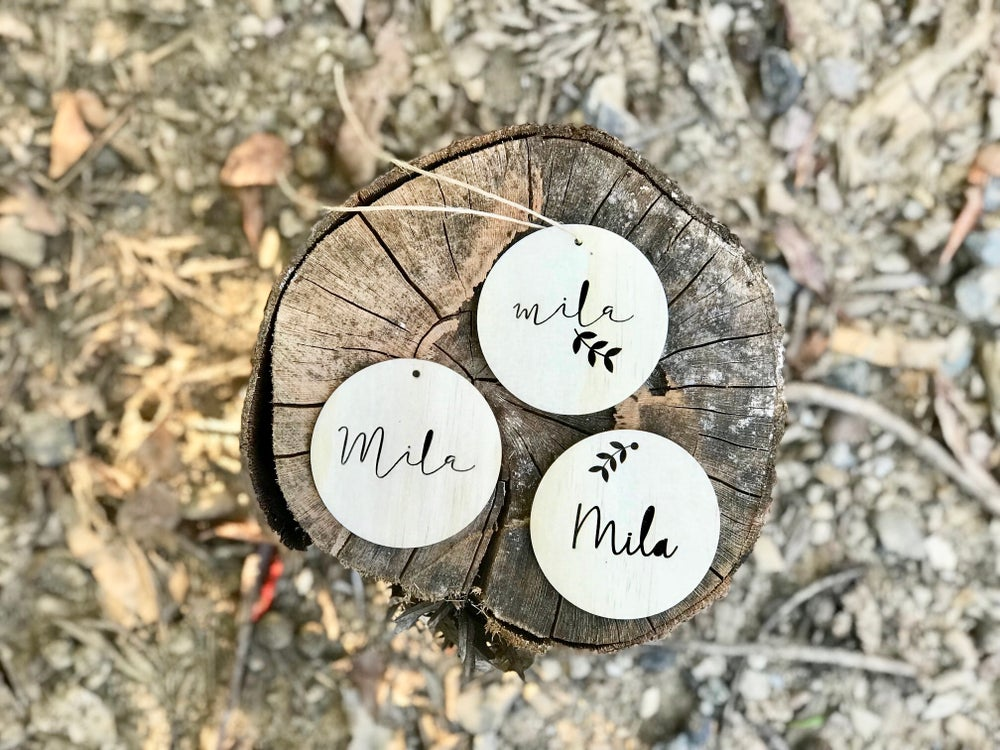Image of PERSONALISED ORNAMENTS | Choose from 3 designs