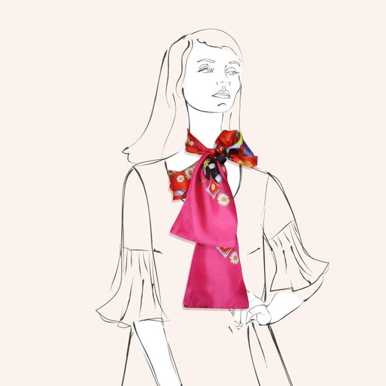 Image of Bon Bon Scarf - a collaboration with Hokum