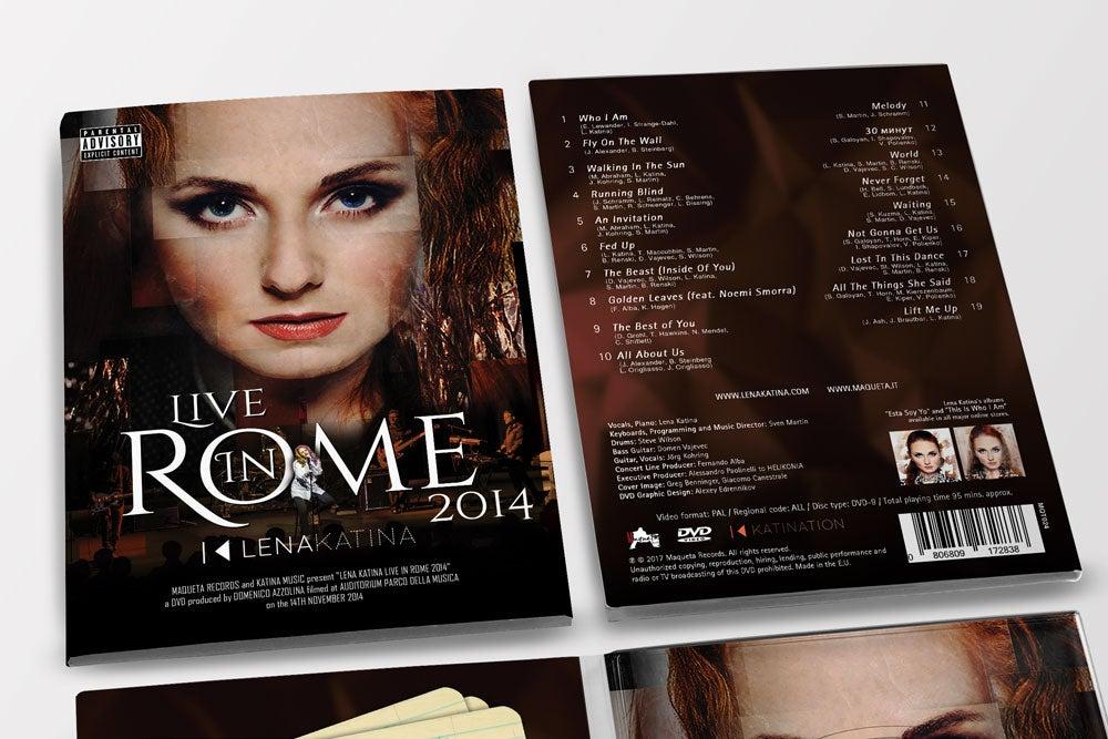 Image of LENA KATINA LIVE IN ROME 2014 DVD