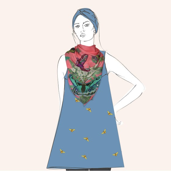 Image of Dottie Scarf - a collaboration with Hokum