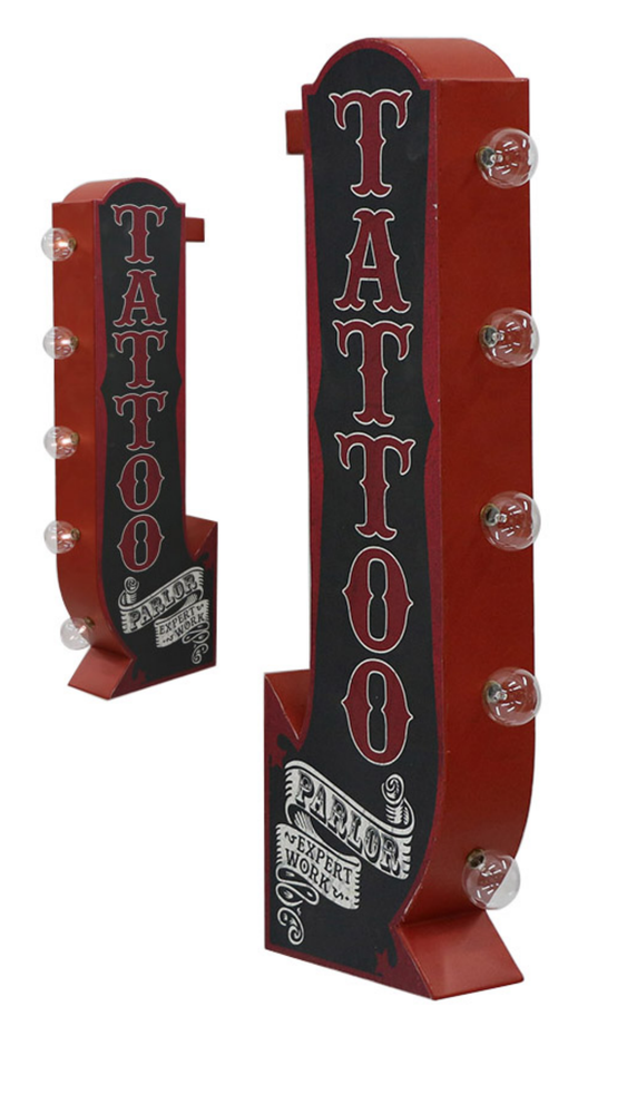 Image of Tattoo Parlor LED light up sign