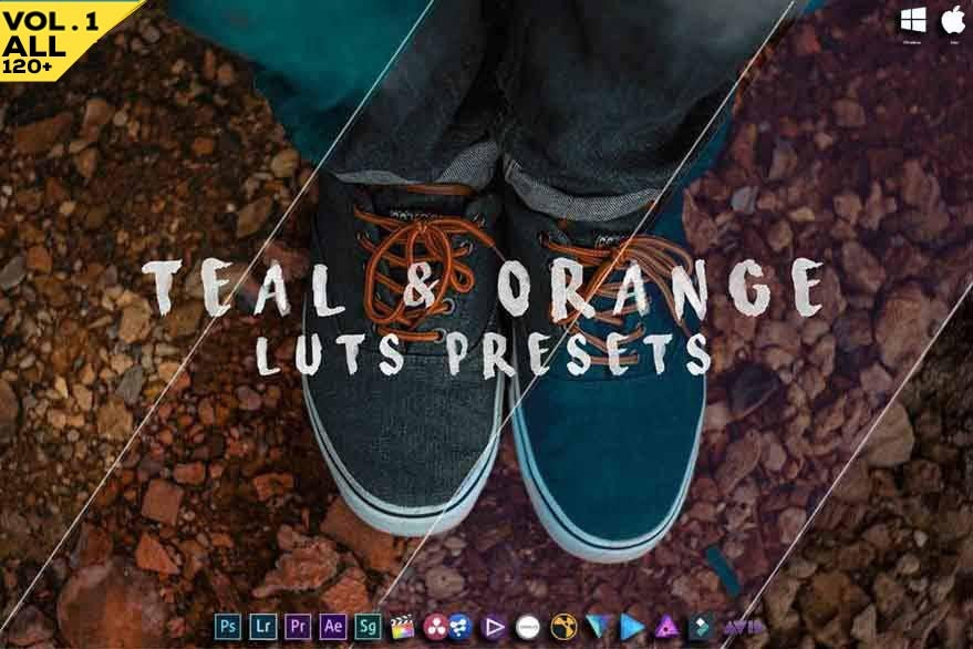 Image of Teal And Orange - Vol.1 All In One Pack - Luts And Presets