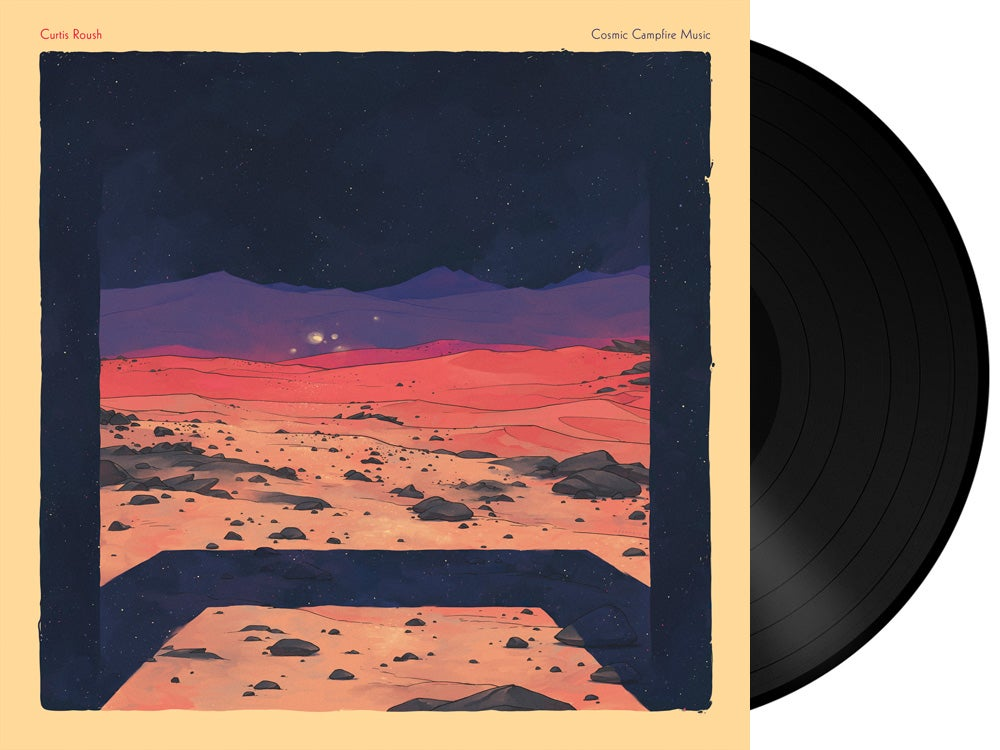 Image of Curtis Roush - Cosmic Campfire Music LP + Download Card (Pre-Order)