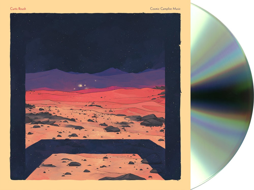 Image of Curtis Roush - Cosmic Campfire Music CD (Pre-Order)