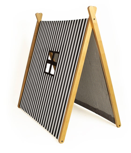 Image of A-Frame Play Tent - Monochrome
