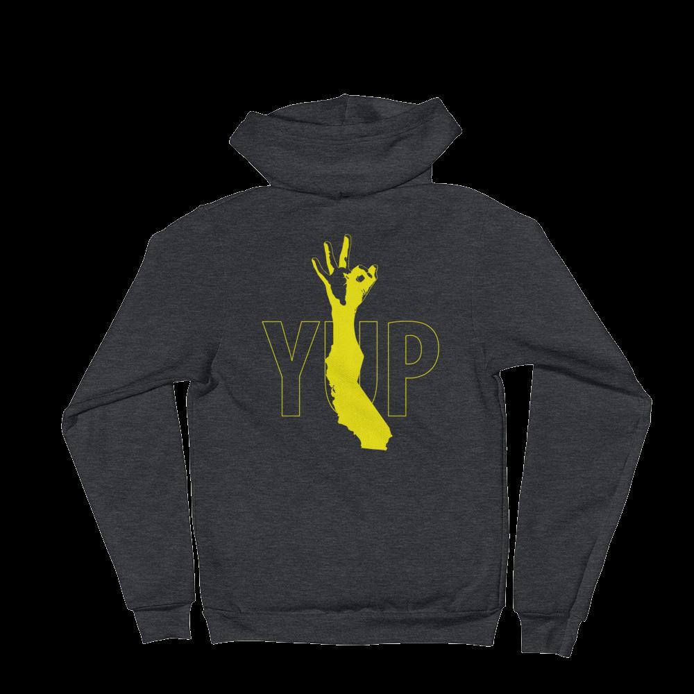 Image of YUP Warriors - unisex zip hoodie