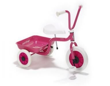 Image of Pink Tricycle With Tipping Tray By Winther