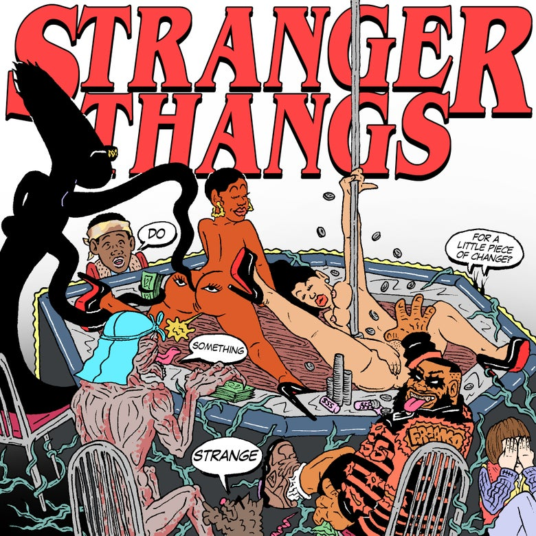 "Image of ""STRANGER THANGS"" PRINT"