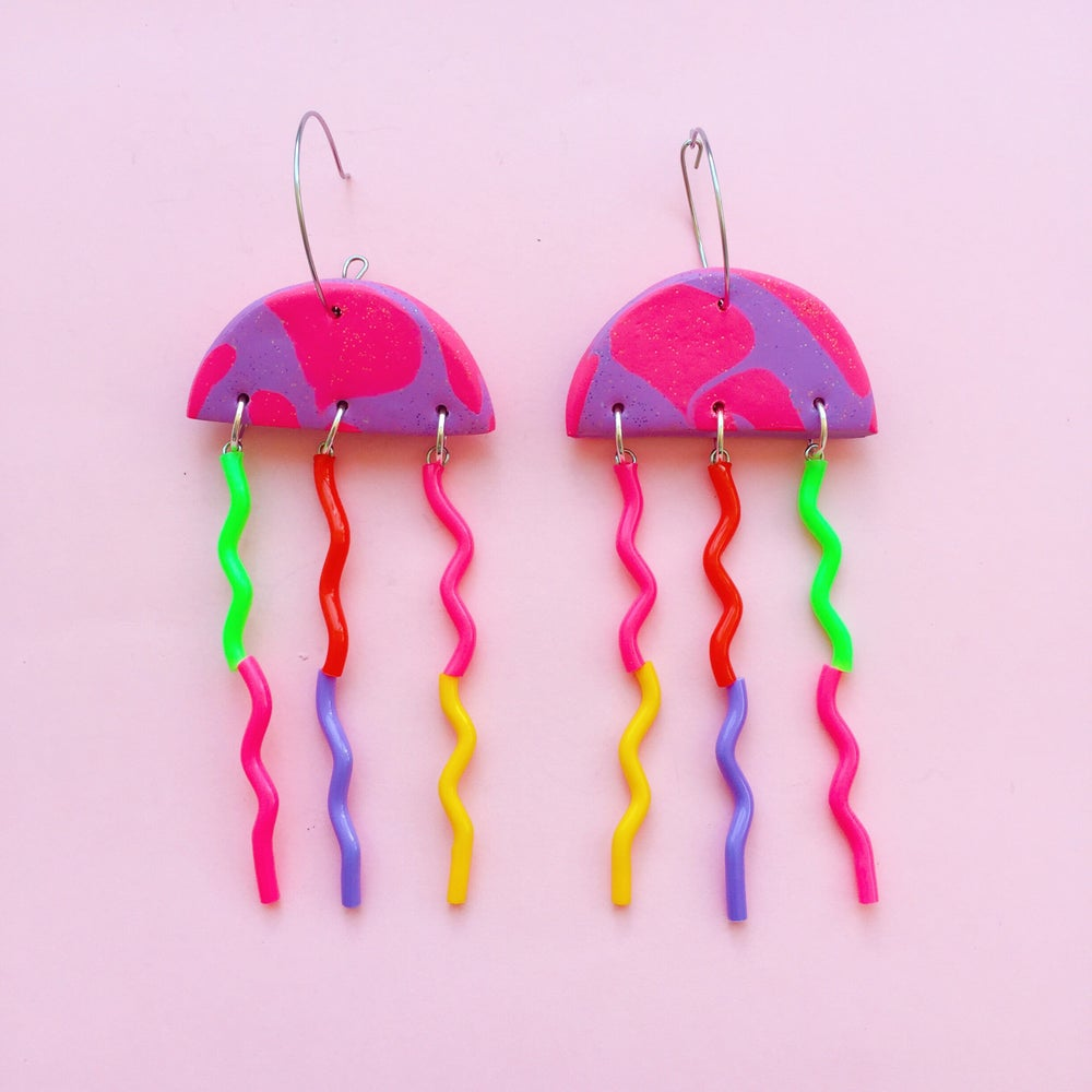 Image of jellyfish earrings pt2
