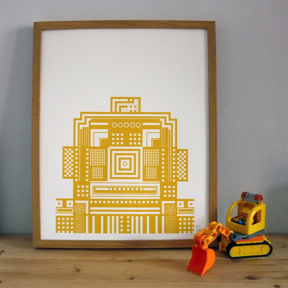 Image of Robot Screenprint