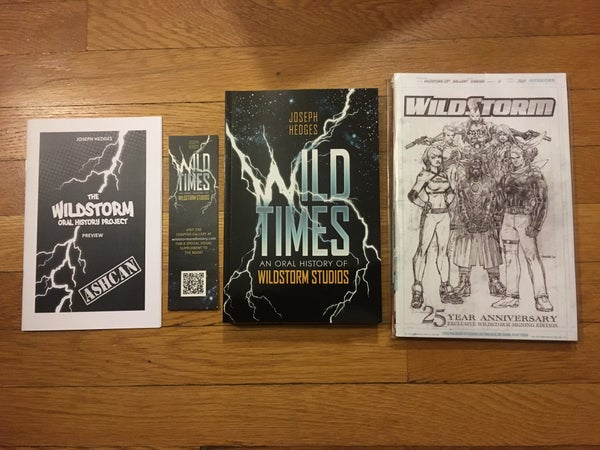 Image of Wild Times: An Oral History of WildStorm Studios - Deluxe Combo Pack
