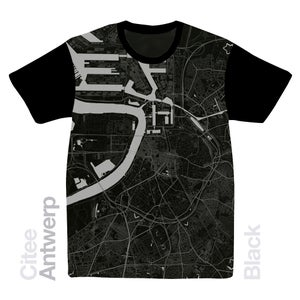 Image of Antwerp map t-shirt