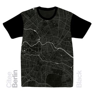 Image of Berlin map t-shirt
