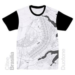 Image of Brasilia map t-shirt