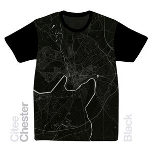 Image of Chester map t-shirt