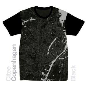 Image of Copenhagen map t-shirt