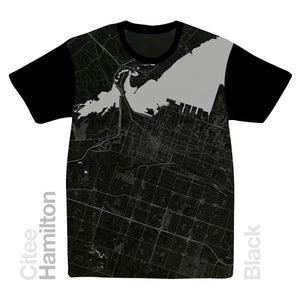 Image of Hamilton map t-shirt