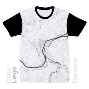 Image of Liege map t-shirt