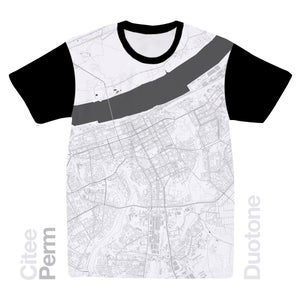 Image of Perm map t-shirt