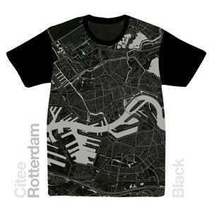Image of Rotterdam map t-shirt