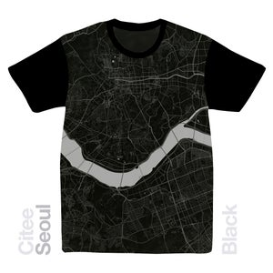 Image of Seoul map t-shirt
