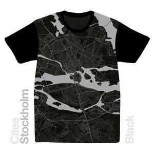 Image of Stockholm map t-shirt