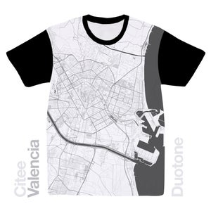 Image of Valencia map t-shirt
