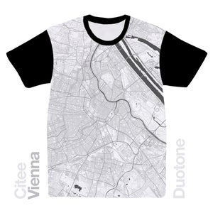 Image of Vienna map t-shirt