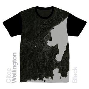 Image of Wellington map t-shirt