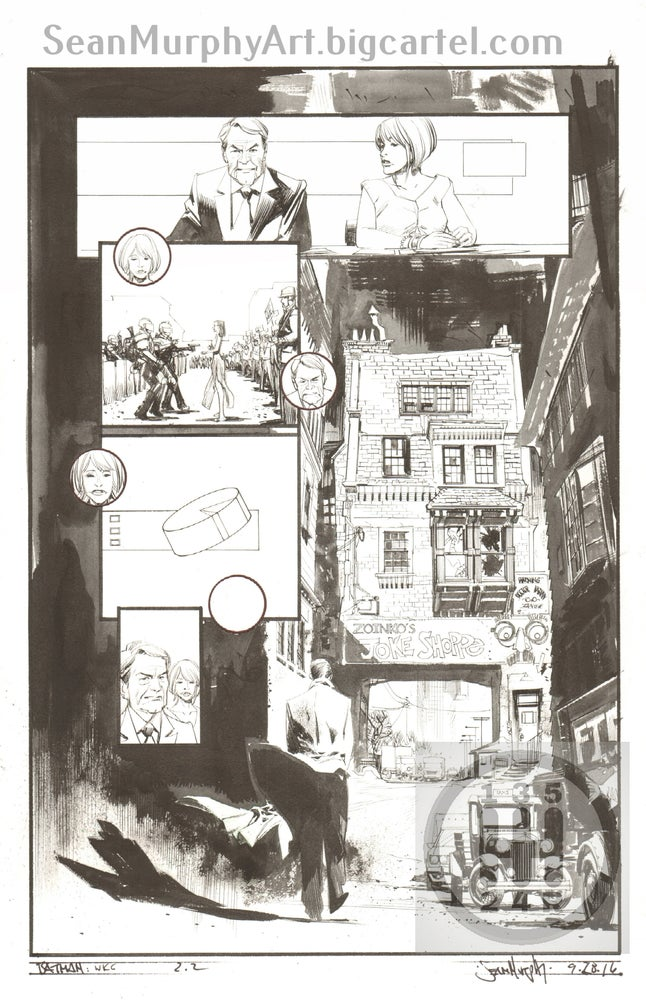 Image of Batman: White Knight #2, page 2