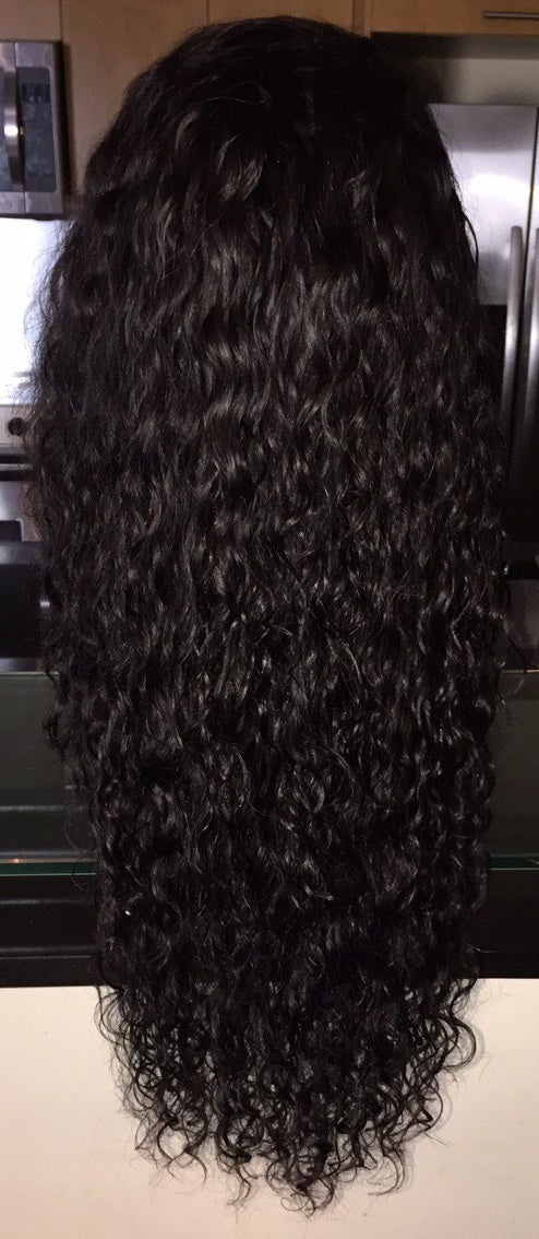 "Image of Cambodian Natural Wave 24"" Custom Lace Frontal Wig!"