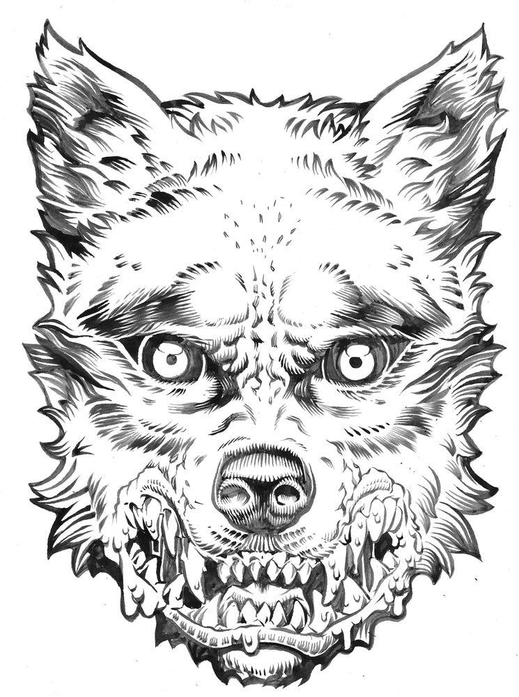 Image of Inktober Mask #4