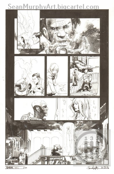 Image of Batman: White Knight #2, page 10