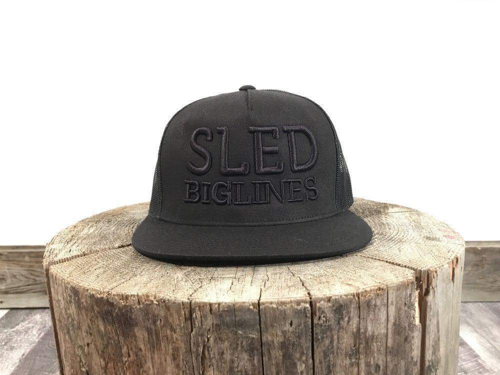 Image of Sled BigLines Black on Black