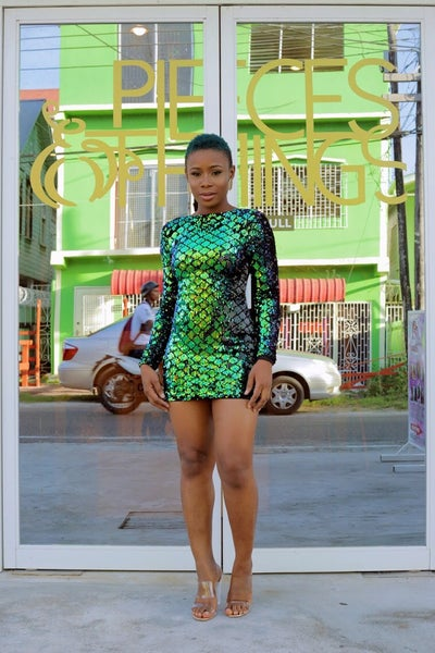 Image of Showstopper  Glitter Bodycon
