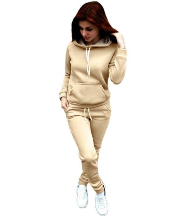 Image of New fashionable polyester cotton two pieces of sport jacket