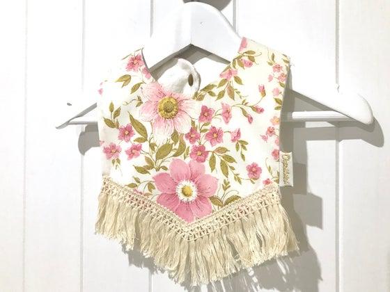 Image of Boho Tassel Bib - Vintage Daisy