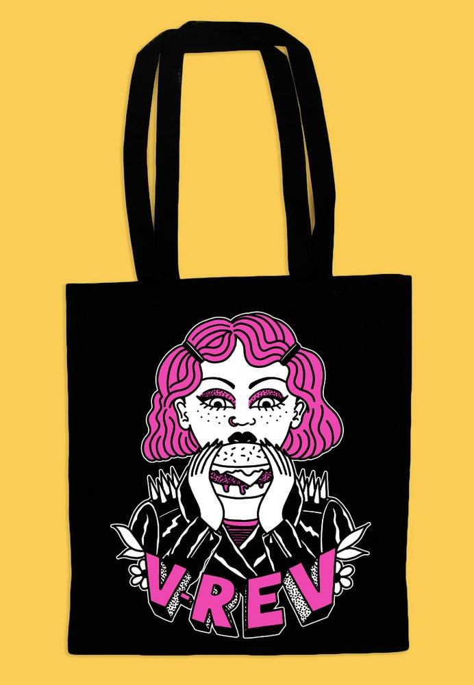 Image of V Rev x Harriet Heath Tote Bag