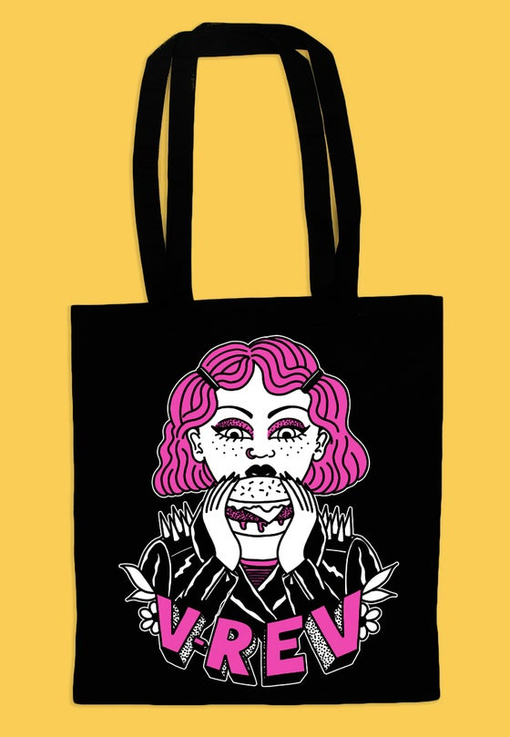 Image of V Rev x Harriet Heath Tote Bag PREORDER