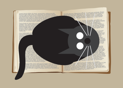 Image of Book Cat