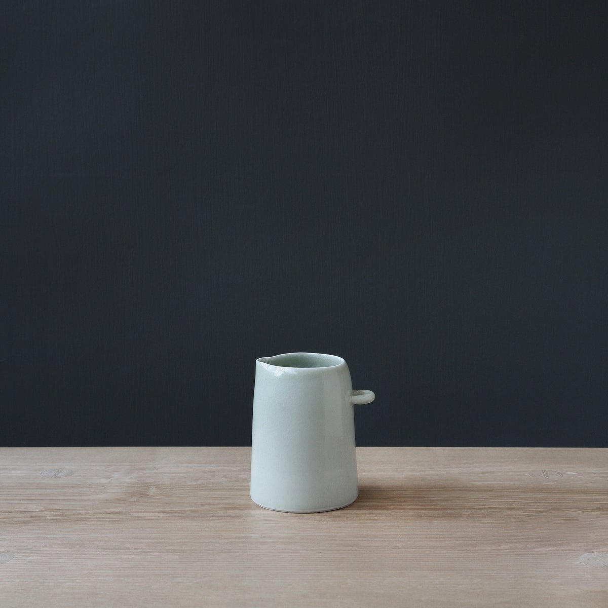 Image of Small Green Crackle/Celadon Jug by Elaine Bolt