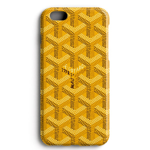 Image of Yellow GYRD - iPhone Case