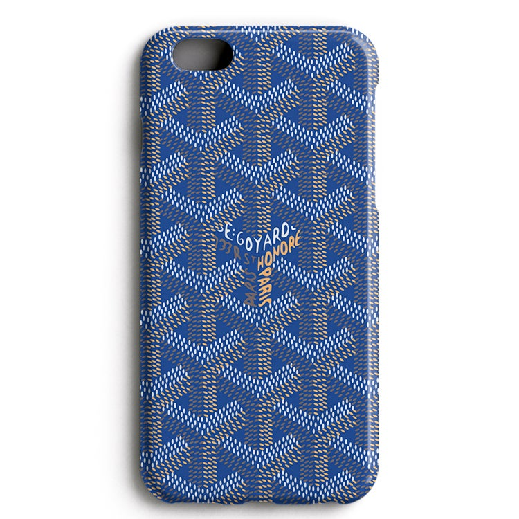 Image of Blue GYRD - iPhone Case