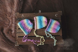 Image of ~Rainbow Bonnet~ size NB